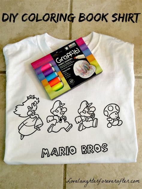 coloring book shirt  kids