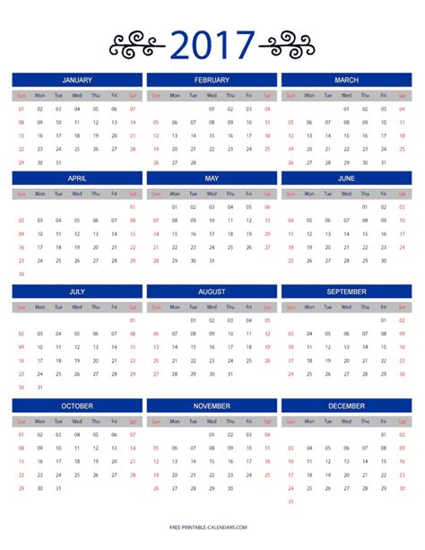 12 month calendar template 2017 12 month colorful calendar for 2017 free printable calendars free 12 month calendar aztec