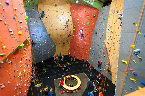 Climbing Gyms  Elevate Climbing Walls