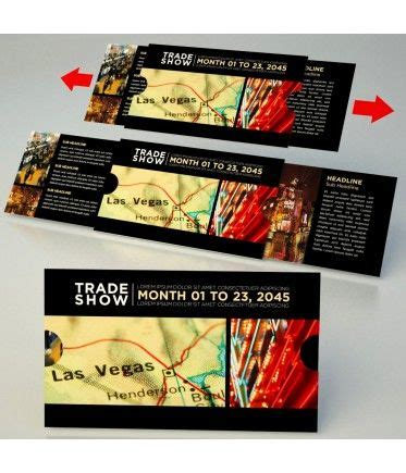 Great Idea for a trade show Invitation Upload your photos