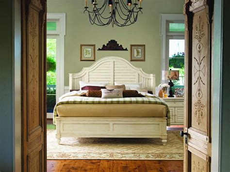 paula deen bedroom furniture paula deen home steel magnolia platform bedroom set in