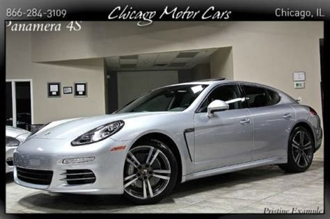 Sell Used 2014 Porsche Panamera 4s 3.0l V6 Twin Turbo