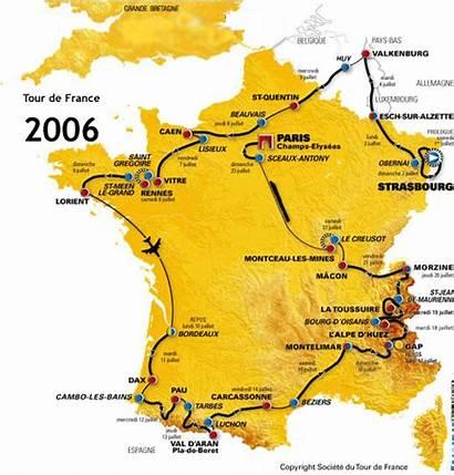 Tour France 2007 2006 Track Le Parcours
