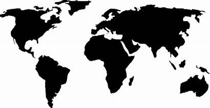 Companies Map Global Bw Icons Europe Wanna