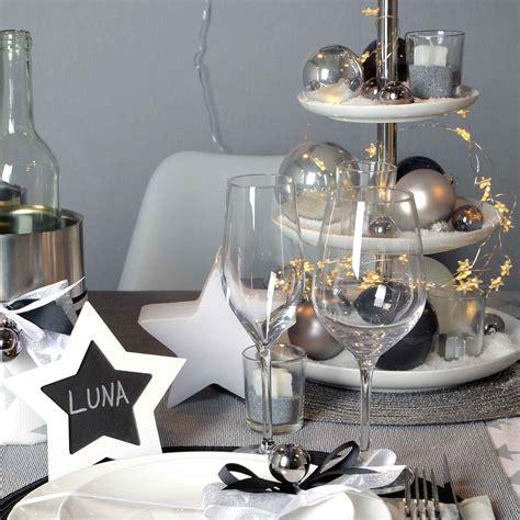 Deko Weihnachten Ideen by Stilsicher In Silber Silber Tischdeko Weihnachten