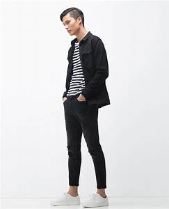 Zara New Carrot Jeans in Black for Men | Lyst