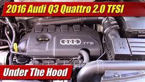 Under The Hood  2016 Audi Q3 Quattro 2 0 Tfsi