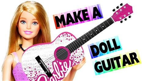 doll guitar easy doll crafts