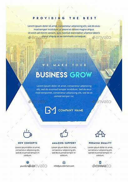 Flyer Business Template Corporate Templates Costs Printable