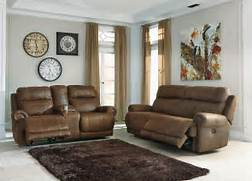Living Room Collection by Buy Ashley Furniture Austere Brown Powered Reclining Living Room Set Bringit