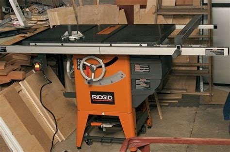Review Ridgid R4511 10 In Granite Top Table Saw By