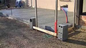 Couler Une Chape : comment se d roule un coulage d 39 une dalle en b ton avec ~ Melissatoandfro.com Idées de Décoration