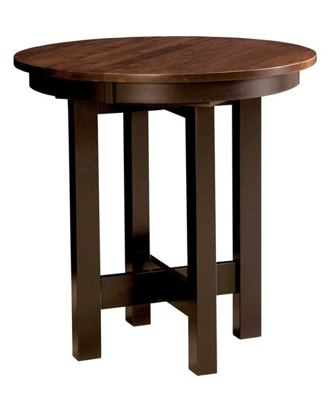 lacrosse dining pub table amish direct furniture