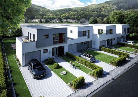 kettenhaus formea dachterrasse und garage