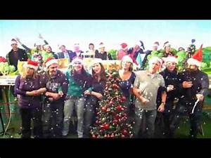 Funny fice Christmas Music Video Lip dub