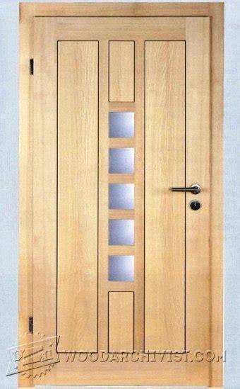entry door plans woodarchivist