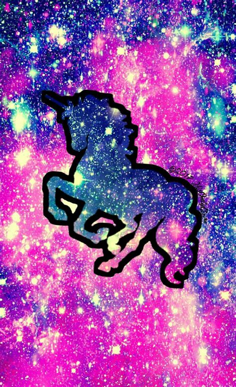 galaxy unicorn wallpapers wallpaper cave