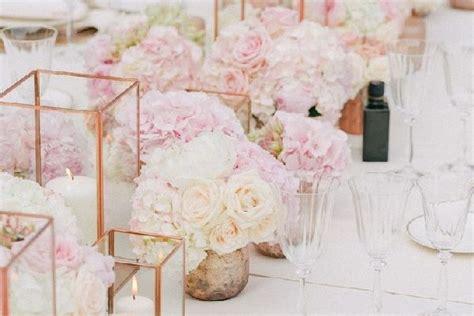 blush wedding centerpiece  love page    puff