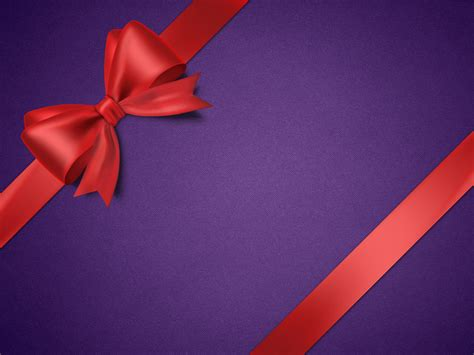 Red And Gold Wallpapers Gift Box Background Psdgraphics