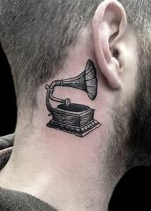 Tattoo Behind Ear For Men | Tattoos for Men