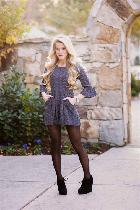1000+ ideas about Dress With Tights on Pinterest | Romper outfit Long romper and Dress leggings
