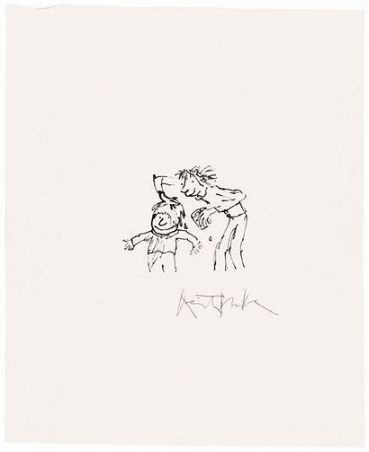 Quentin Blake Yoghurt Smearing Brother Stop Drawings
