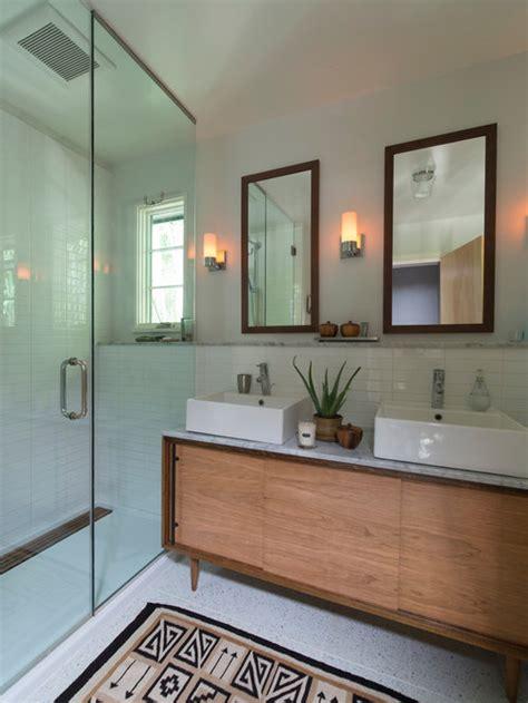 mid century modern bathroom home design ideas pictures