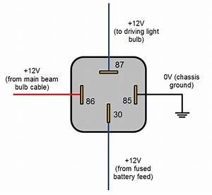 12v 5 pin relay wiring diagram wiring diagram and With 5 pin relay socket