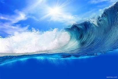 Ocean Wave Wallpapers Desktop Theme Sea Background