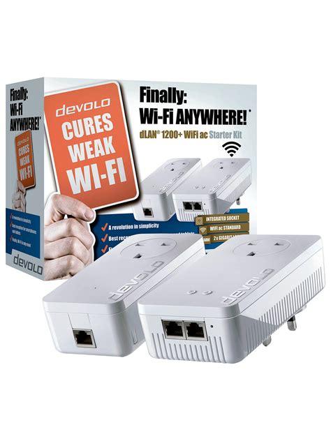 devolo dlan  wifi ac powerline starter kit  john