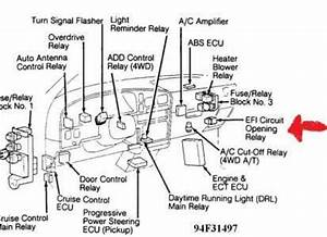 where to find my toyota ipsum fuel pump relay fixya With 2000 jaguar s type 3 0 fuse box diagram also hyundai santa fe fuse box