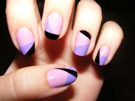 Nail Art Diy : 32 Amazing Diy Nail Art Ideas Using Scotch Tape