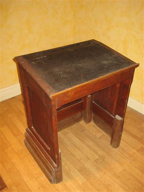 bureau ecolier bois bureau ancien pupitre clasf