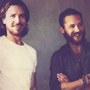 Tom Hardy and Christian Bale