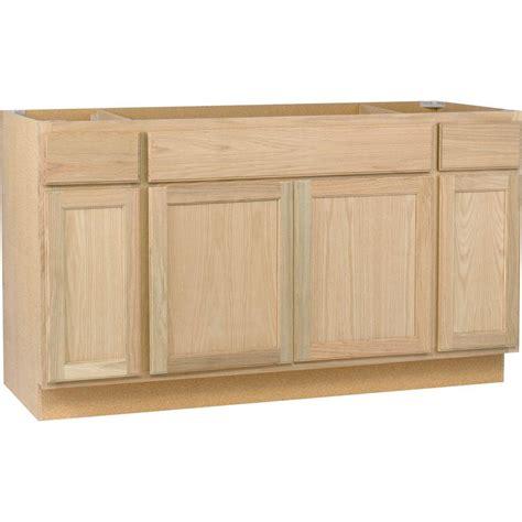 home depot kitchen furniture assembled 60x34 5x24 in sink base kitchen cabinet in