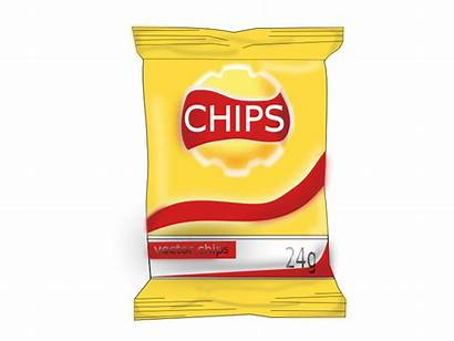 Chips Potato Chip Clipart Clip Lays Transparent