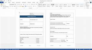 Software development change management templates for Change management process document template