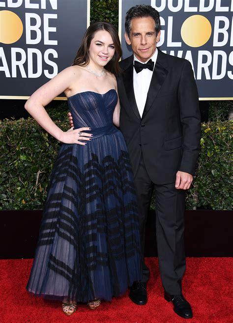 ben stiller golden globes 2019 ben stiller takes daughter ella 16 as his date to the