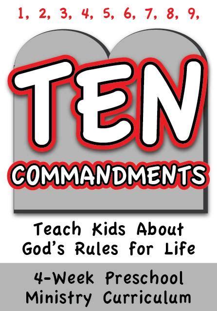 the 10 commandments 4 week preschool ministry curriculum 464 | 10 Commandments 632627ac 89ea 498d 9555 fbb5f6c660b3 1024x1024
