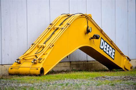 excavator booms hitachi john deere cat excavators vi equipment