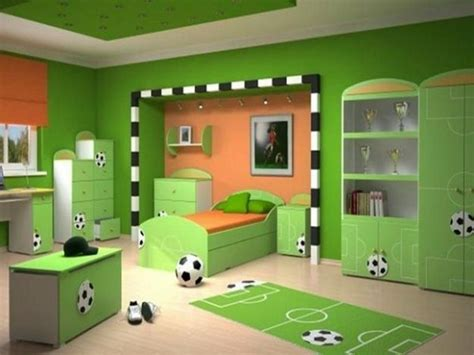 Kinderzimmer Ideen Jungs Fussball by Kinderzimmer Gr 220 N 40 Gestaltungsideen F 252 R Kinderzimmer