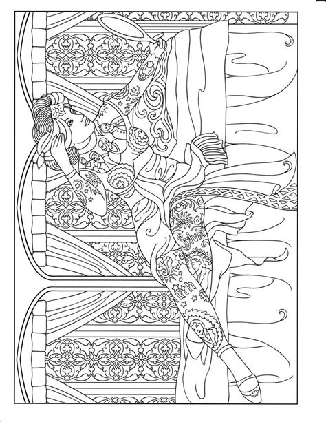 90 best images about Body Art Tattoo Coloring Pages for
