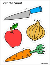 cut  carrot song resources maple leaf learning library