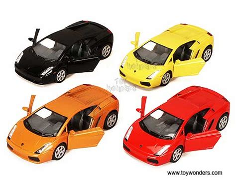 lamborghini gallardo sports car  kinsmart  scale