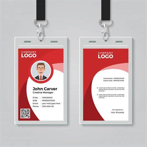 id card template id card template corporate id