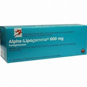 alpha liponsäure neuropathie