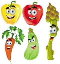 Cartoon Fruit Vegetable Clip Art