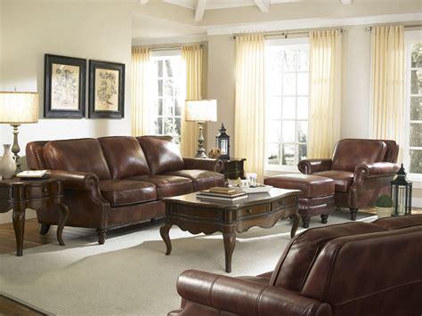 bentley rustic savauge leather living room set