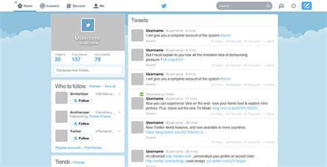 twitter feed photoshop template 10 ui kit psd gratuits pour vos maquettes photoshop