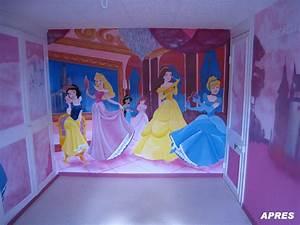 Decoration chambre princesse disney for Chambre a coucher adulte avec housse de couette 100x120 disney